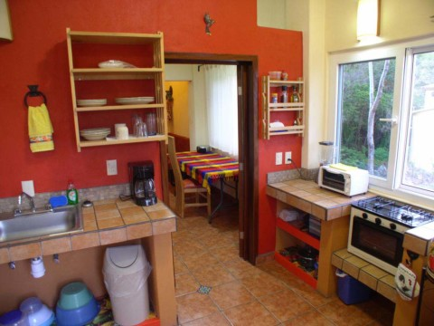 Apartment Two Kitchen