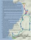 Hiking Map Of Chacala to Playa Las Cuevas